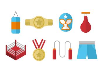 Free Wrestling Icon - vector #416203 gratis
