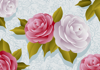 Camellia Flowers - Free vector #416343
