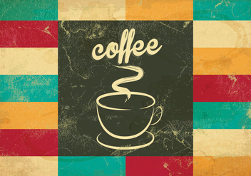 Tiled Coffee Vector - Kostenloses vector #416413