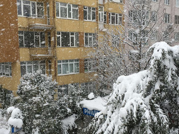 Turkey (Istanbul) Snow started again - Kostenloses image #416443
