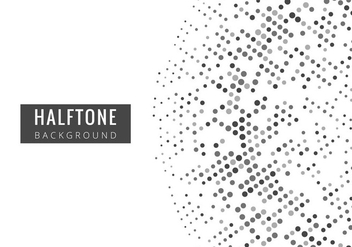 Free Vector Halftone Background - vector #416523 gratis