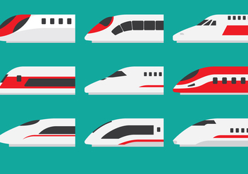 Super Train Locomotive - Free vector #416713