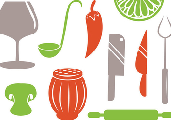 Free Kitchen Vectors - vector #416933 gratis