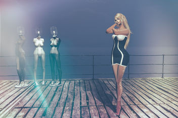 Glamour Dress by [I<3F] & co @ BishBox - image gratuit #417773