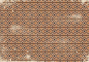 Vintage Grunge Pattern Background - Kostenloses vector #417793