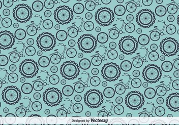 Bicycle Vector Pattern - vector #417853 gratis