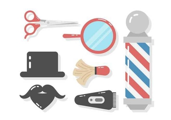 Free Barber Shop Vector - vector #417983 gratis