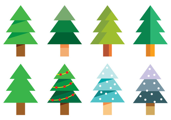 Christmas Tree - vector gratuit #418153