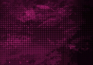Free Vector Halftone Background - Free vector #418163