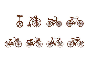 Bicicleta Icon Vector - бесплатный vector #418373