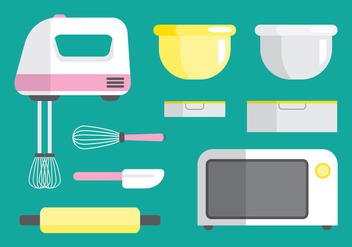 Cooking Equipment - vector #418383 gratis
