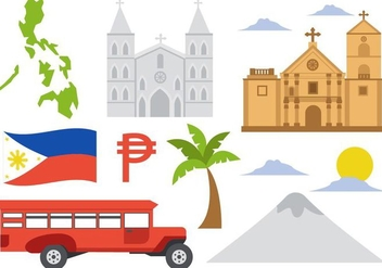 Free Philippines Icons Vector - vector #418413 gratis