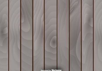 Vector Natural Wooden Background - бесплатный vector #418543