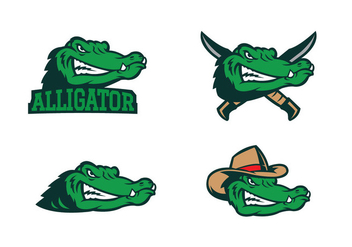 Free Alligator Vector - vector #418553 gratis