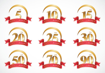 Free Anniversary Vector - Free vector #418853
