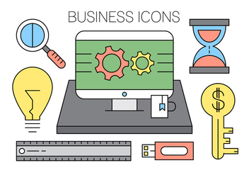 Free Office Icons - vector gratuit #419153
