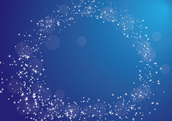 Stardust Background Vector - vector #419543 gratis