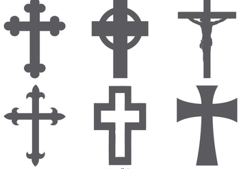 Cross Shapes Collection - vector #419703 gratis