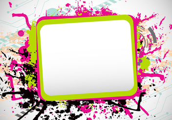 Grunge Funky Frames - Kostenloses vector #419713