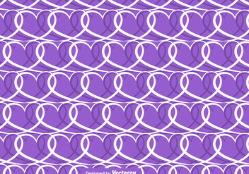 Vector Hearts Seamless Pattern - Free vector #419783