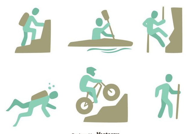 Extreme Sports Vector Sets - vector #419823 gratis