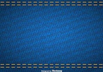 Vector Abstract Texture Of Blue Denim - vector gratuit #419913