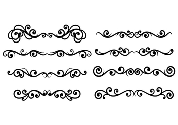Scrollwork Vector - Free vector #420053