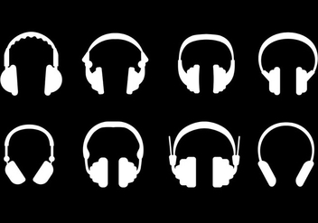 Free Head Phone Icons Vector - vector gratuit #420063