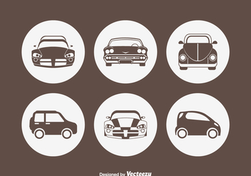 Free Car Silhouette Vector Icons - бесплатный vector #420223