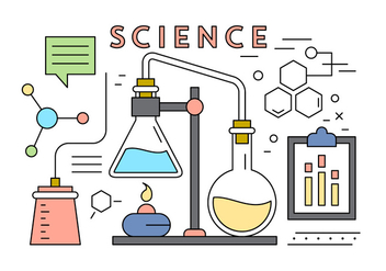 Free Science Vector Elements - vector gratuit #420333