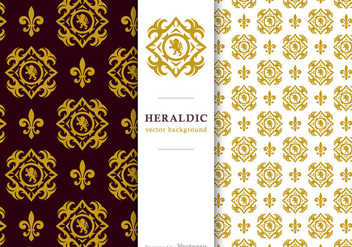 Free Vector Heraldic Background - бесплатный vector #420373
