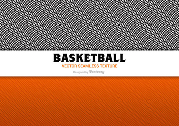 Free Basketball Texture Vector - бесплатный vector #420383