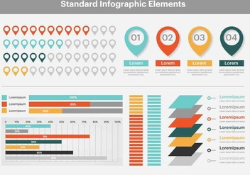 Free Infographic Vector Elements - бесплатный vector #420463