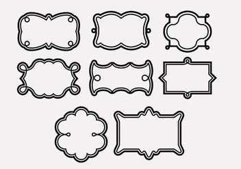 Cadre Frame Icons - vector #420803 gratis
