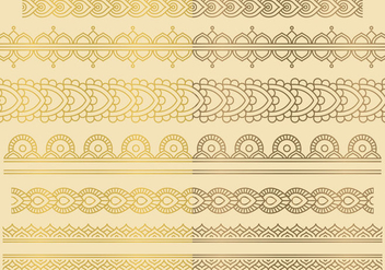 Indian Ornaments - Kostenloses vector #420883