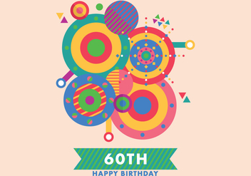Colorful Greeting Card - Free vector #422073
