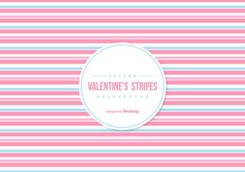 Valentine's Colorful Stripes Background - vector gratuit #422233