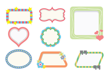 Funky Frame Pack - Free vector #422253