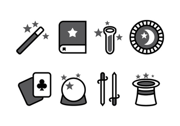 Magic Icon Set - vector #422433 gratis