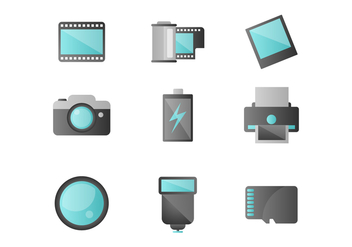 Free Photography Vector Icons - vector #422573 gratis
