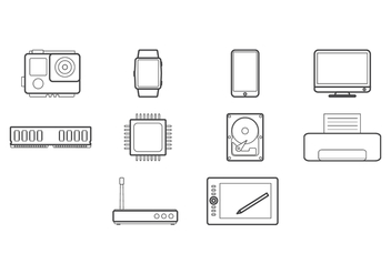 Free Technology Icon - Kostenloses vector #422633