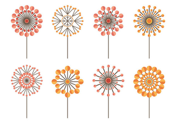 Blowball Icon Collection - Free vector #422743