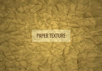 Free Vector Wrinkled Paper Texture Background - Kostenloses vector #422773