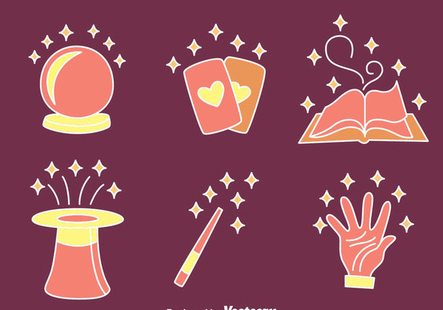 Magical Object Vectors - Free vector #423443