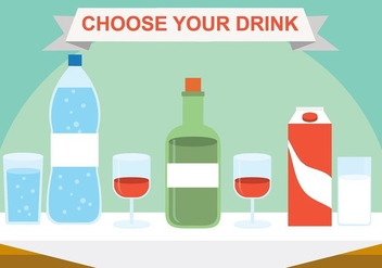 Free Vector Drinks - vector #423773 gratis