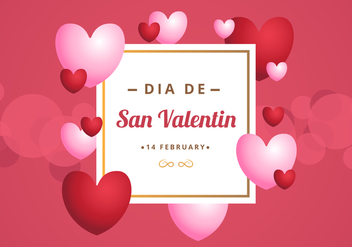 Free San Valentin Background - Free vector #424043