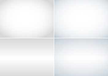 Grey Gradient Custom Background Four Pack - vector gratuit #424113