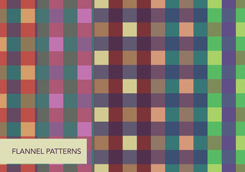 Colorful Flannels - vector gratuit #424173