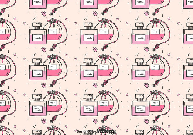 Perfume Pattern Vector - Free vector #424263