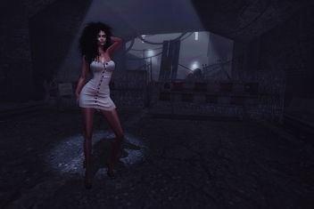 Dress : Buttoned Tape by Kaithleen's - image #424463 gratis